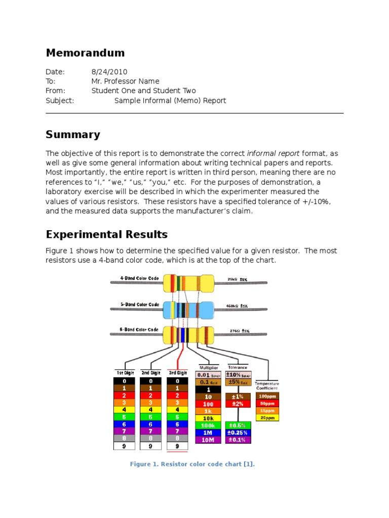 Resistors Resistor Engineering Tolerance Diagram Color Codes