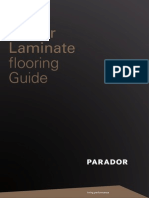 Parador Laminate Flooring Guide (Melamine Resin-coated)