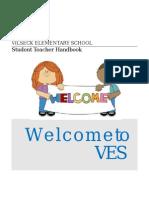 ves student teacher handbook 2