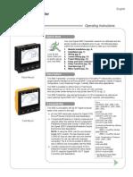 Signet 9900 Manual Instruction