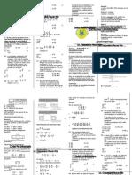 ARITMETICA CLASE 03 Razones y Proporciones -Universidad de Cañete