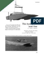 Hydro Dynamic Hydroplane