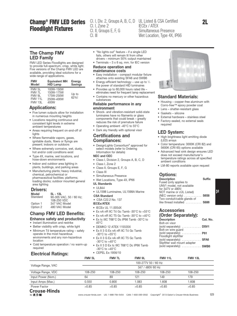 Champ Fmv Led Light Emitting Diode Lighting Feniex Wiring Diagram