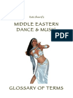 Belly Dance Glossary