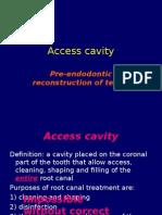 Access Cavity