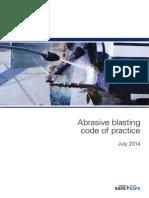 Abrasive Blasting Code Practice 3957