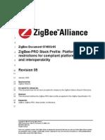 Zigbee Pro Stack Profile 2
