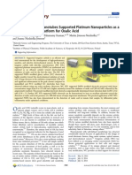 Tungsten Carbide Nanotubes Supported Platinum Nanoparticles as A