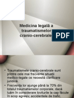 Curs 5 - MEDICINA LEGALA A TRAUMATISMELOR CRANIO-CEREBRALE.ppt