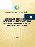 CHR Guidelines