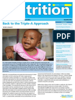 UNICEF ESARO Nutrition Newsletter 2014