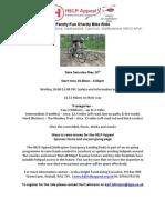 Family Fun Charity Bike Ride For @HelipadHelp