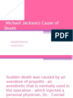 Michael Jackson's Cause of Death