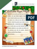Carta a Los Reyes Magos - 9ºE
