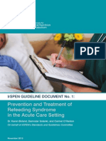 Refeeding Syndome Guideline Doc