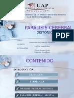 Paralisis Cerebral Ataxica y Atetoide