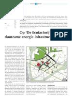 Op de Ecofactorij duurzame energie-infrastructuur
