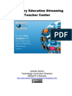 Discovery Education Streaming Teacher Center