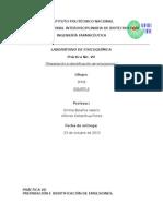 Práctica No. 7 Preparación e Identificación de Emulsiones.