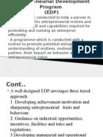 Entrepreneurial Development Program U1 L 7