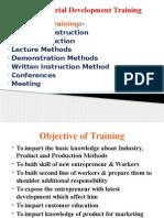 Entrepreneurial Development Training U 1 L 8