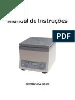 Manual de Instrução Centrifuga 80-2B
