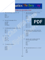 CXCCSECMathsSpecimenPaper1ExamQuestions