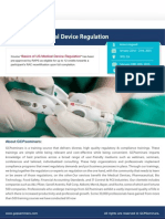 Basics of US Medical Device Regulation