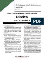 Analista Judiciário I - Direito - TJ AM