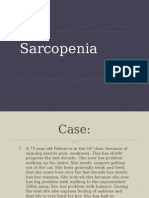Sarcopenia. Geriatric Medice