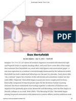 Don Hertzfeldt · Interview · the a.V