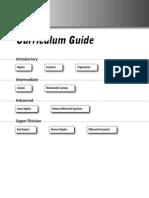 Guía de Curriculum de Matemáticas
