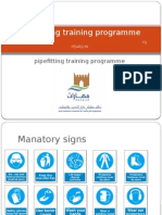 Pipefitting Training Programme Powerpoint