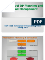 EGN_5622 Operations Planning