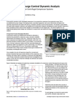 Article Surge Control Analysis for Centrifugal Compressors