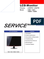 Samsung Syncmaster T260 T240 ServiceManual