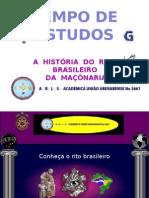Conheçam o Rito Brasileiro - Um Dos Ritos Adotados Pelo Grande Oriente Do Brasil