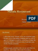 Masala Restaurant (Business Plan)
