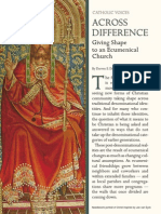 Ecumenism Across Difference