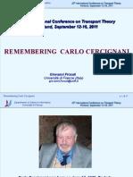 Cercignani Memoriam Ictt 2011