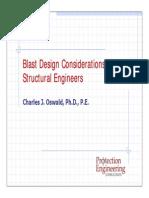 Blast Design Oswald