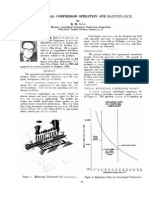 Centrifugal Compressor Operation and Maintenance