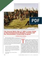 The Second Métis War of 1885