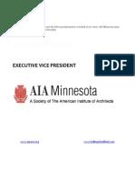Position Profile - AIA Minnesota - EVP