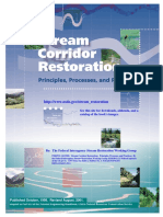 Stream Corridor Restoration Principles, Processes, And Practices