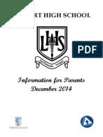 School Handbook Dec 2014