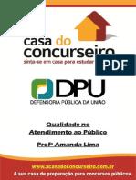 Apostila DPU.2014 QualidadeNoAtendimento AmandaLima