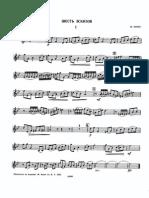 Porret Julien 6 Esquisses Trumpet part