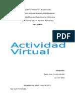 Actividad Virtual Paolo