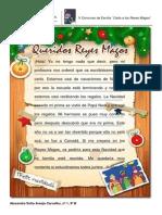 Carta a Los Reyes Magos - 9ºB